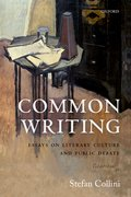 Cover for Common Writing - 9780198813118