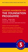 Cover for Oxford Handbook for the Foundation Programme - 9780198813538