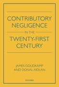 Cover for Contributory Negligence in the Twenty-First Century