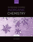 Cover for Solutions Manual to Accompany Inorganic Chemistry 7th Edition