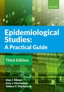 Cover for Epidemiological Studies: A Practical Guide - 9780198814726