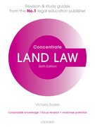 Cover for Land Law Concentrate