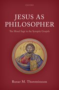 Cover for Jesus as Philosopher - 9780198815228