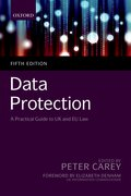 Cover for Data Protection: A Practical Guide to UK and EU law