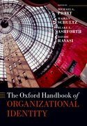 Cover for The Oxford Handbook of Organizational Identity