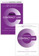 Cover for Contract Law Revision Pack