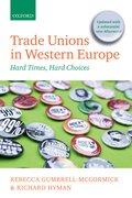 Cover for Trade Unions in Western Europe