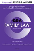 Cover for Concentrate Questions and Answers Family Law
