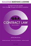 Cover for Concentrate Questions and Answers Contract Law