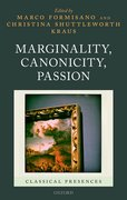 Cover for Marginality, Canonicity, Passion