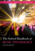 Cover for The Oxford Handbook of Music Psychology - 9780198818830