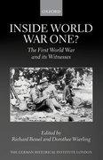Cover for Inside World War One?
