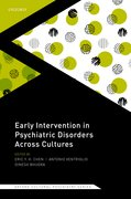 Cover for Early Intervention in Psychiatric Disorders Across Cultures - 9780198820833