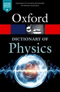 Cover for A Dictionary of Physics