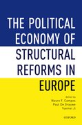Cover for The Political Economy of Structural Reforms in Europe