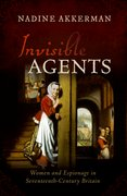 Cover for Invisible Agents - 9780198823018