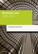 Cover for Business Law 2018-2019