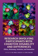 Cover for Research Involving Participants with Cognitive Disability and Differences