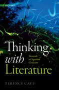 Cover for Thinking with Literature - 9780198824640