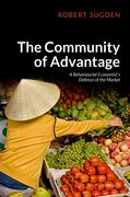 Cover for The Community of Advantage - 9780198825142