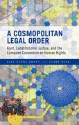 Cover for A Cosmopolitan Legal Order