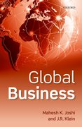 Cover for Global Business - 9780198827481
