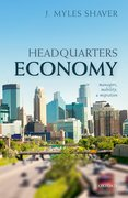 Cover for Headquarters Economy - 9780198828914
