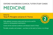 Cover for Oxford Handbook Clinical Tutor Study Cards: Medicine