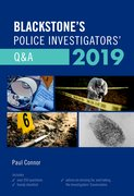 Cover for Blackstone's Police Investigators' Q&A 2019 - 9780198831365