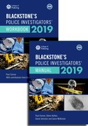 Cover for Blackstone's Police Investigators' Manual and Workbook 2019 - 9780198831389