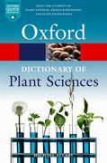 Cover for A Dictionary of Plant Sciences