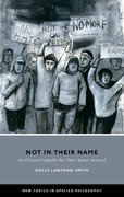 Cover for Not In Their Name