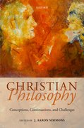 Cover for Christian Philosophy