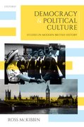 Cover for Democracy and Political Culture