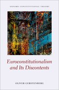 Cover for Euroconstitutionalism and its Discontents - 9780198834335
