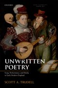 Cover for Unwritten Poetry