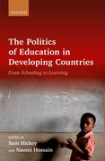 Cover for The Politics of Education in Developing Countries