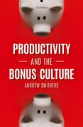 Cover for Productivity and the Bonus Culture