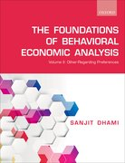 Cover for Foundations of Behavioral Economic Analysis