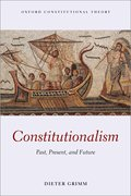 Cover for Constitutionalism
