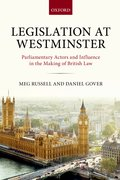 Cover for Legislation at Westminster