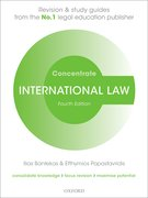 Cover for International Law Concentrate