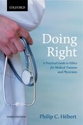 Cover for Doing Right