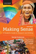 Cover for Making Sense in the Social Sciences