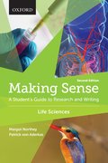 Cover for Making Sense in the Life Sciences