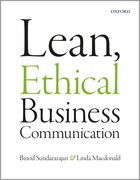 Cover for Lean, Ethical Business Communication