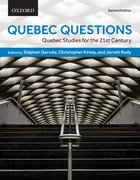 Cover for Quebec Questions