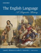 Cover for The English Language - 9780199019151
