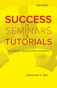 Cover for Success in Seminars and Tutorials