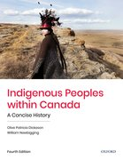 Cover for Indigenous Peoples within Canada